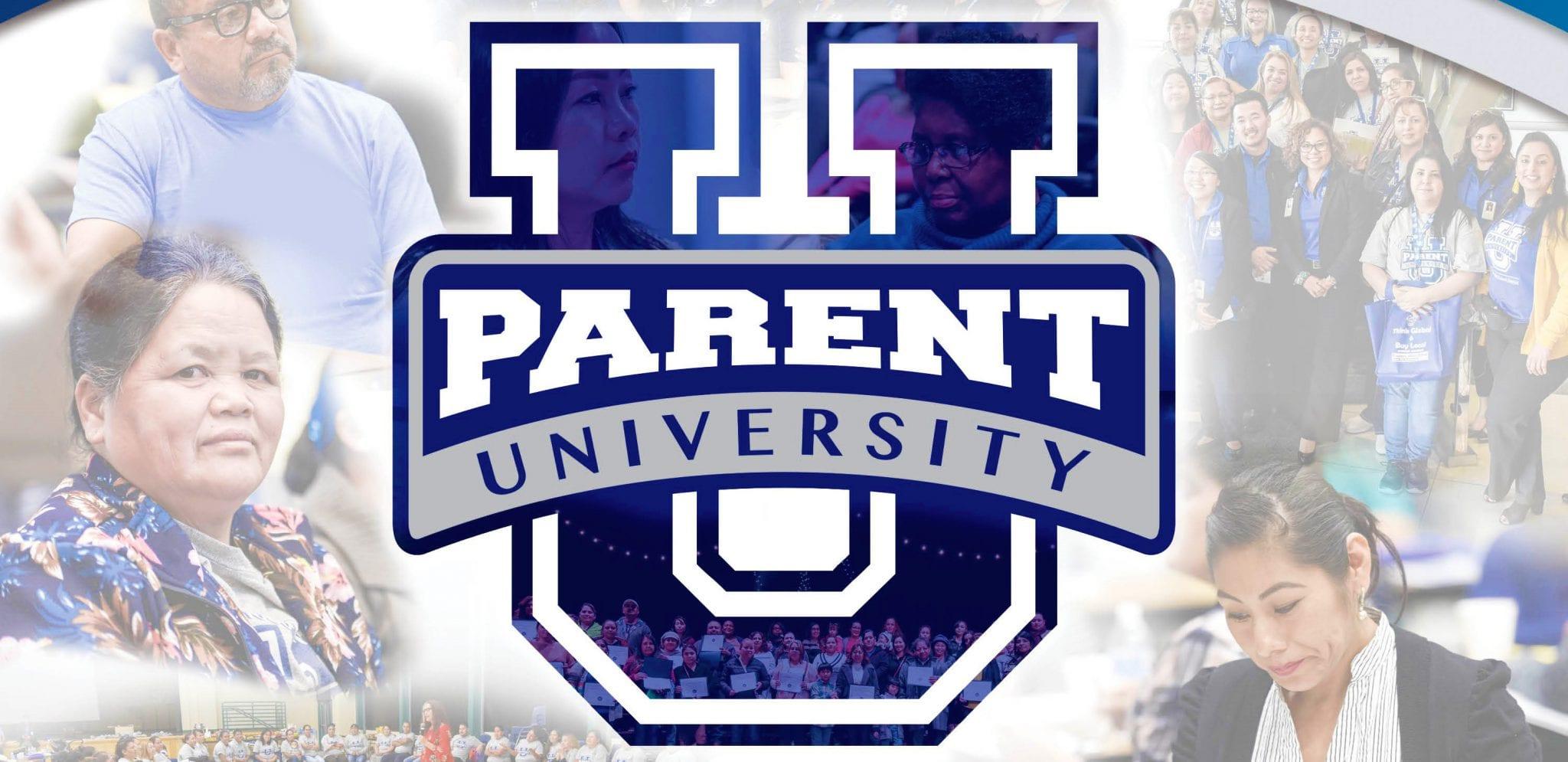 Parent University banner